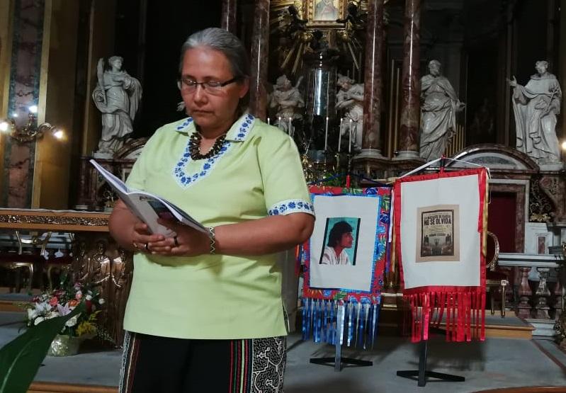 Recuerdan en Roma las vidas perdidas en la lucha de la Amazonía del Perú: Sucesos de Bagua y Edwin Chota