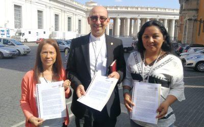 """Mujeres indígenas de Perú envían carta al Sínodo: """"El modelo extractivista nos violenta"""""""