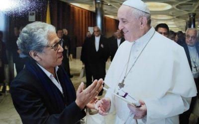 """""""Los líderes indígenas nos reconocen como aliados. Debemos actuar en consecuencia"""". Hna Zully Rojas, misionera dominica y auditora en el Sínodo Amazónico"""