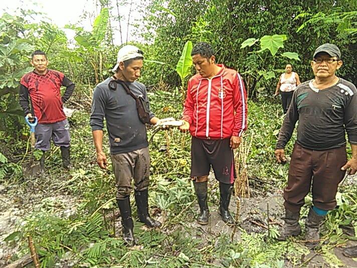 Derrame de petróleo en la frontera Ecuador-Perú ya afecta a comunidades kichwas del Napo