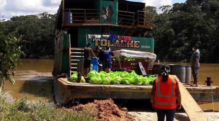 Cuatro positivos por COVID-19 en delegación que recorrió el río Corrientes