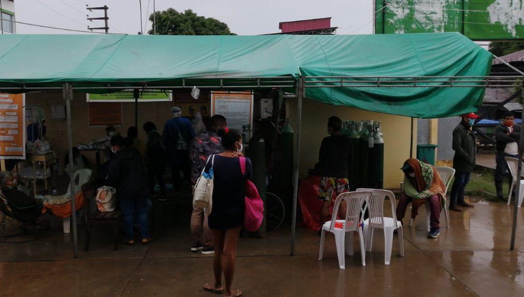 Ucayali: Tres líderes indígenas, con sintomatología COVID-19, sufren en carne propia el colapso de la sanidad pucallpina