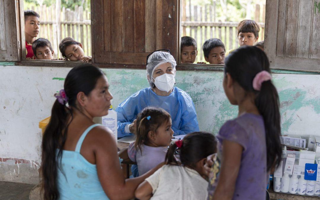 Microred del Napo escala de 55 a 922 infectados por COVID-19 en una semana