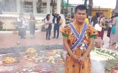 """Herlín Odicio, líder cacataibo: """"La tala ilegal y el narcotráfico nos siguen invadiendo, también en cuarentena"""""""