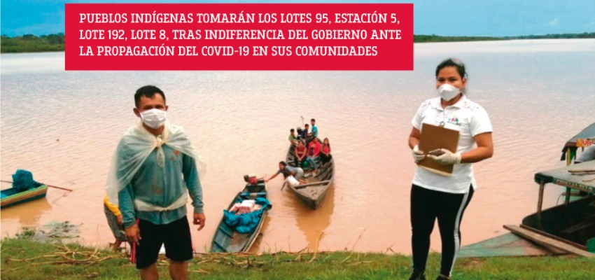 Organizaciones indígenas de Loreto dan 72 horas al gobierno tras deficiente atención ante el COVID-19