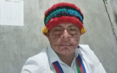 """Nelton Yankur, presidente de la FENAP: """"Buscamos la unidad de todos los pueblos originarios"""""""