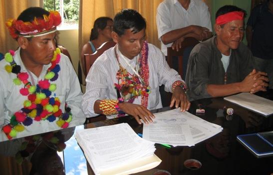 Pueblos indígenas de San Martin temen perder sus territorios ancestralesl