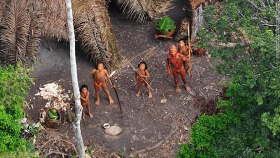 Las tribus aisladas mueren después de haber sido contactadas