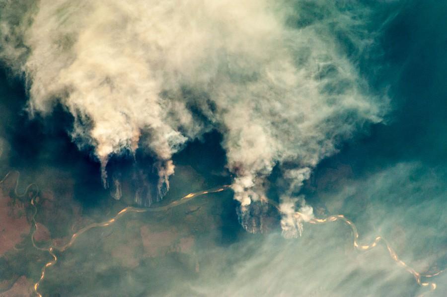 La Amazonía se hace humo