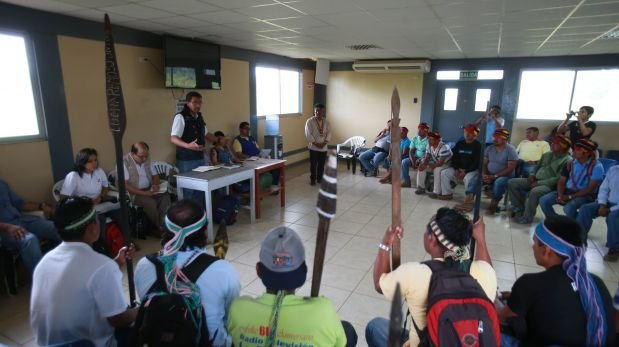 Andoas: nativos y Comisión de Alto Nivel sesionarán el jueves