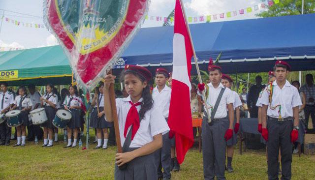 Madre de Dios: Proponen aperturar año escolar con el himno nacional en Yine y otras lenguas indígenas