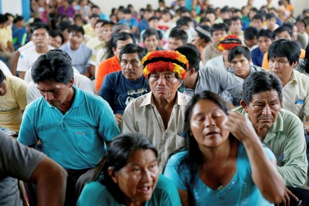 Apus de Loreto denuncian que gobierno quiere dividir a comunidades nativas