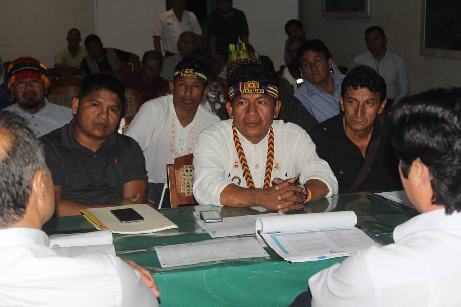 Apus de Loreto piden que el nuevo gobierno cumpla con los acuerdos firmados el año pasado