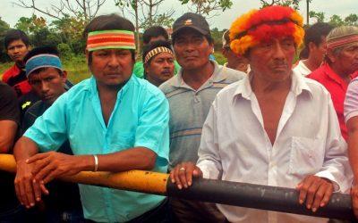 Respeto a la institucionalidad indígena