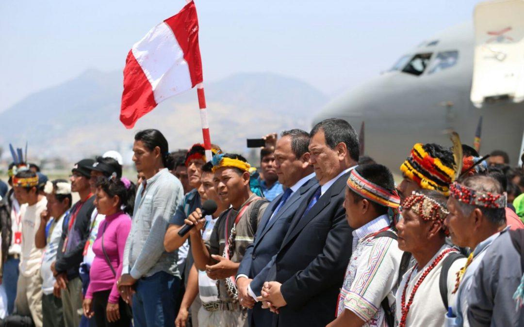 Diálogo con comunidades de Saramurillo se reanuda el lunes 28, indica Jorge Nieto