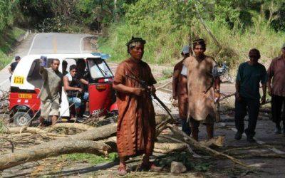 Junín: nativos suspenden paro de 72 horas tras acuerdo con PCM