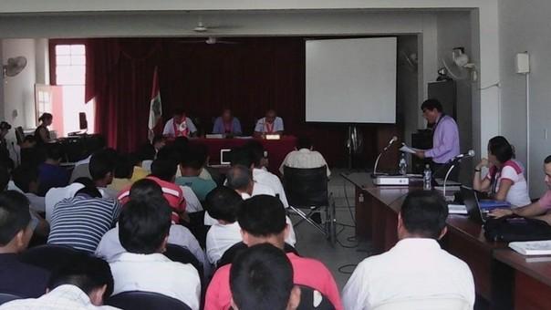 Realizaron audiencia N° 55 del denominado «Baguazo»