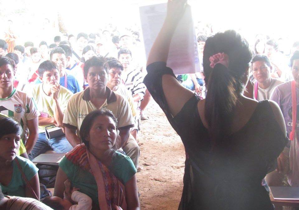 Dos abogadas hablan de los retos en el país en la defensa de los pueblos indígenas