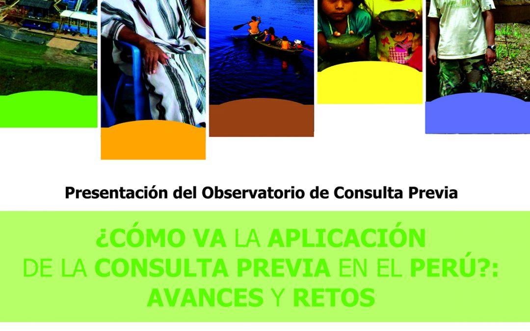 """Presentación del """"Observatorio de Consulta Previa"""" del CAAAP"""