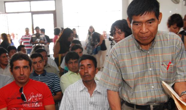 Las comunidades awajún de Amazonas decidieron no votar por Alan García