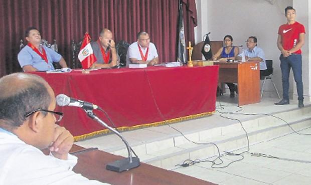 """Testigo del """"Baguazo"""" dijo que policía lo obligó a colocar su huella en declaración"""