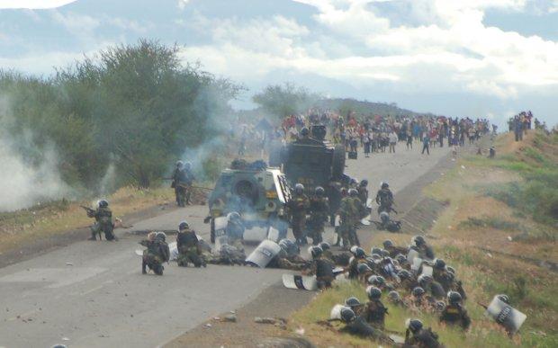 Denuncian demora de juicio por el 'Baguazo' para favorecer a generales PNP