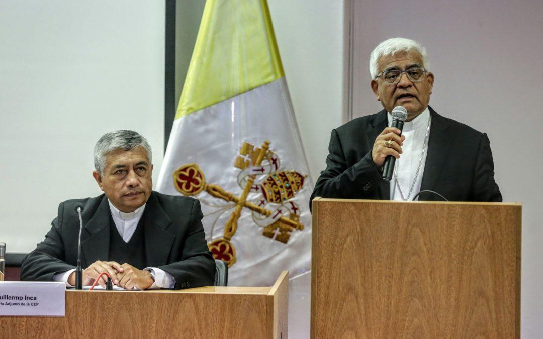 Comunicado del Episcopado Peruano sobre la coyuntura política del país