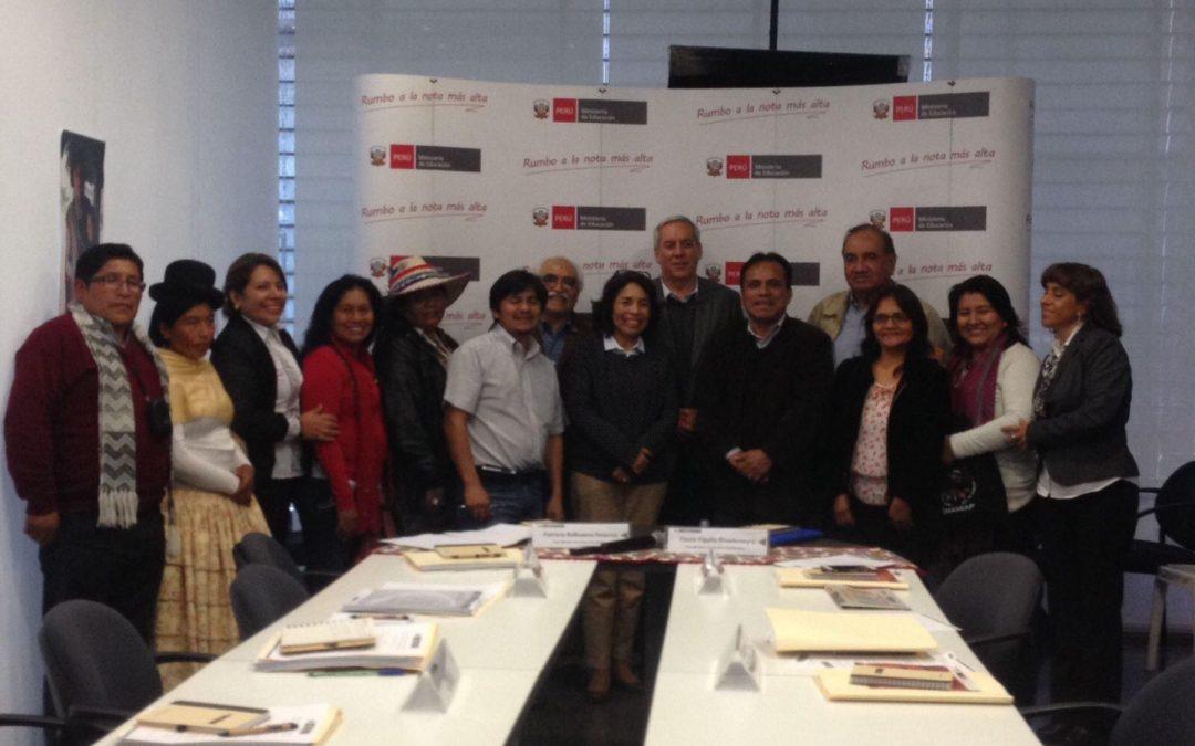 PERÚ: Se inicia etapa informativa del proceso de consulta de plan educación bilingüe