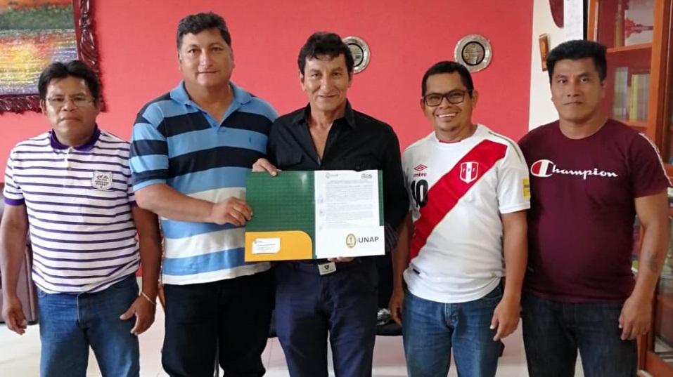 Acodecospat suscribe convenio de cooperación con Universidad Nacional de la Amazonía Peruana – UNAP