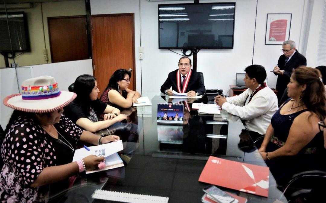 JNE promoverá la participación política de comunidades indígenas