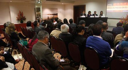 Defensor del Pueblo destacó la importancia de continuar con la implementación del derecho de consulta previa