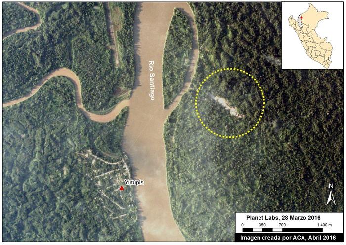 Así se ve la región Amazonas que ya empieza a ser deforestada por la minería ilegal