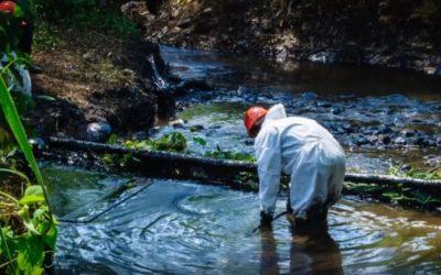 Derrame de Petroleo en Quebrada Inayo (Imaza-Bagua)