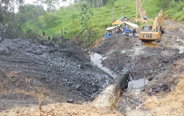 Indígenas denunciarán a la estatal Petroperú por derrame en Amazonía