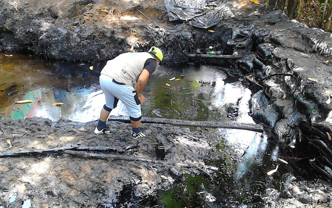 Aidesep convoca a plantón frente a Petroperú por derrames de petróleo
