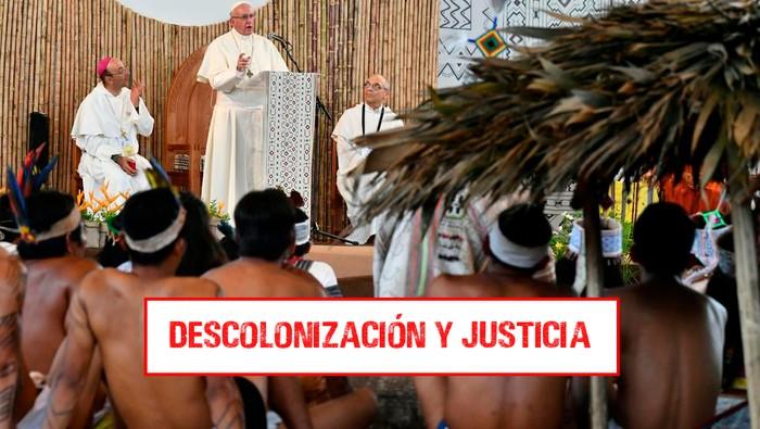Papa convoca a jueces/zas y académicos/as del mundo a reflexionar sobre Colonización, Descolonización, Neocolonialismo y Justicia