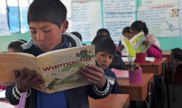 Comunidades indígenas se beneficiarán con el Plan Nacional de Educación Intercultural Bilingüe