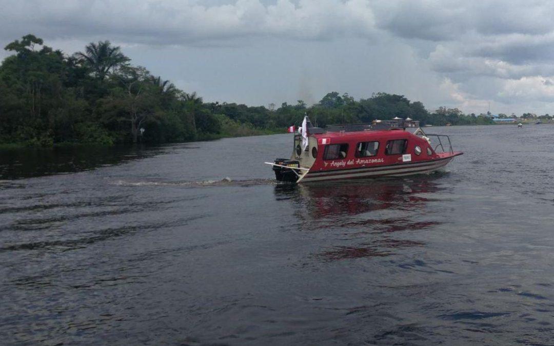 Embarcación recorrerá la Amazonía para realizar despistajes de VIH en comunidades indígenas