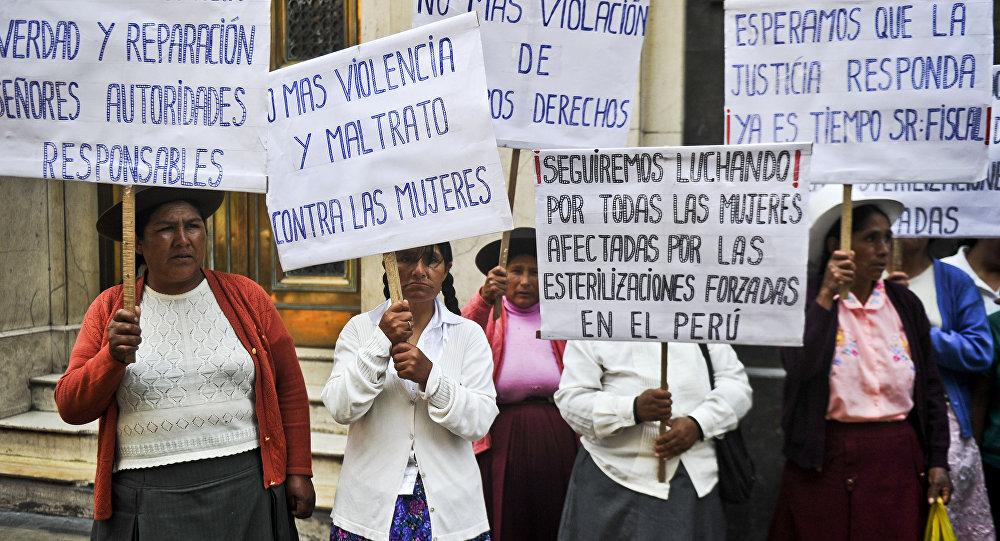 Mujeres indígenas de Perú presentan ante la ONU caso de esterilizaciones forzadas
