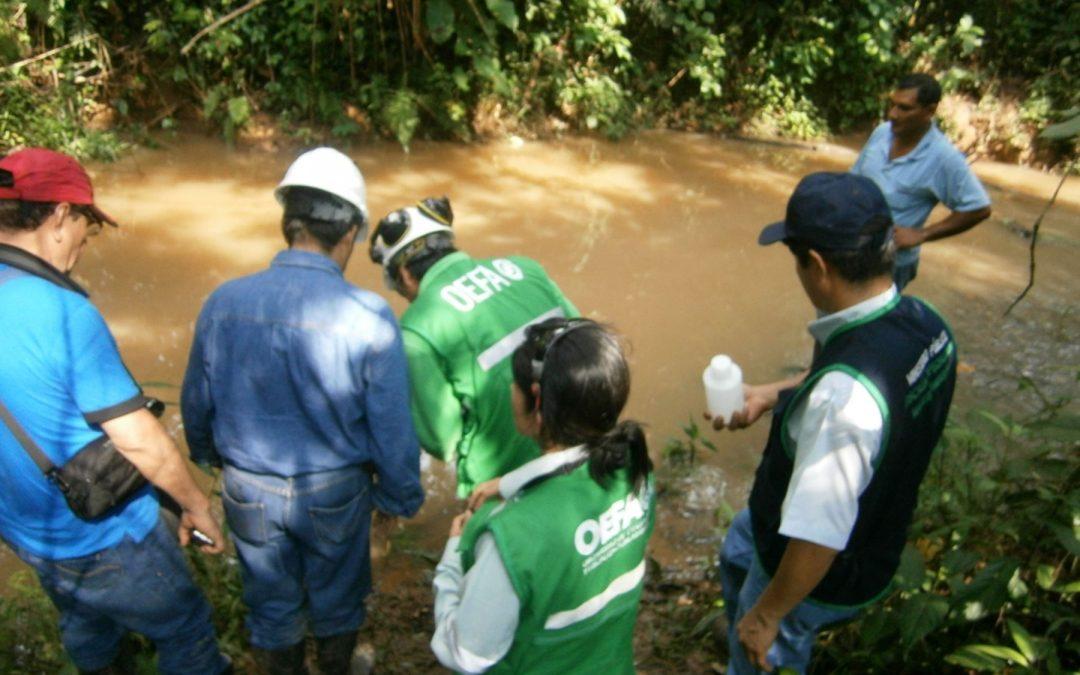 Fiscalía en materia ambiental investiga derrame de petróleo en Bagua