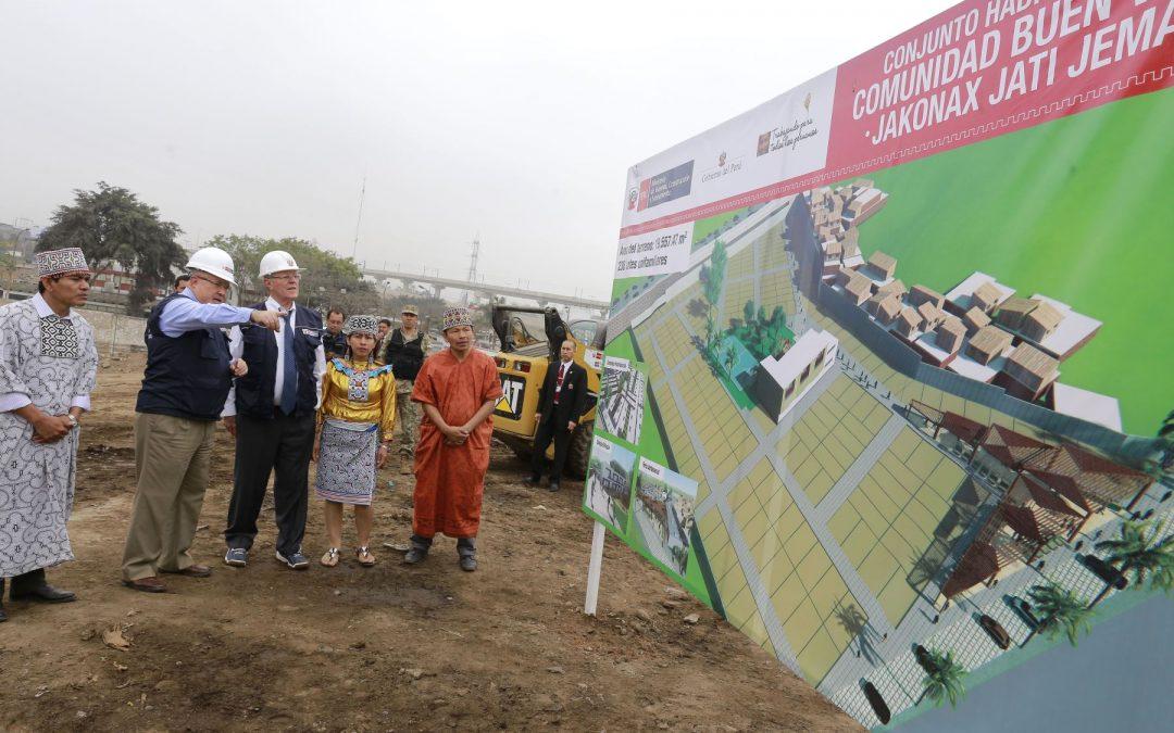 Kuczynski afirma que Cantagallo se convertirá en ciudad modelo