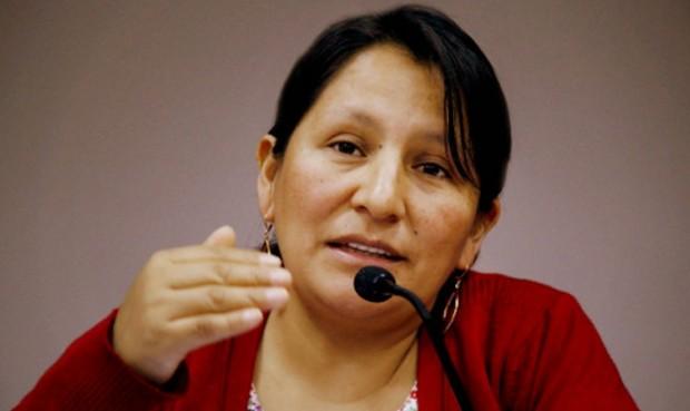 Proponen a lideresa indígena como precandidata al Congreso por el Frente Amplio
