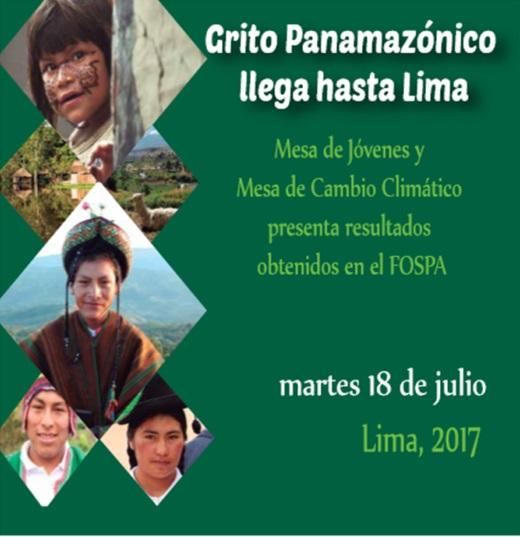 Conoce el Programa de mañana 18: Grito Panamazónico en Lima