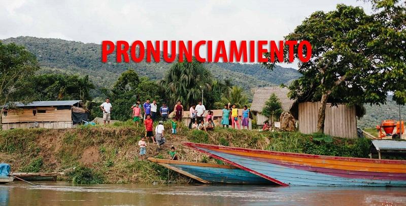 GTAW: Nos pronunciamos sobre el derrame ocurrido en la comunidad wampis de Mayuriaga