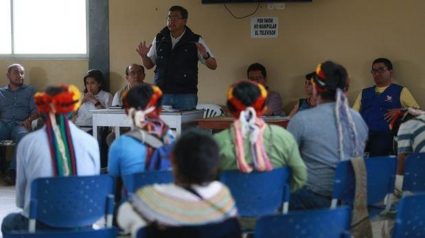 Ejecutivo dialoga hoy con nativos que toman el lote 192