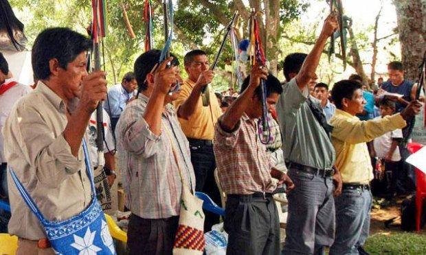 Nativos retienen a trabajadores de petrolera en Loreto
