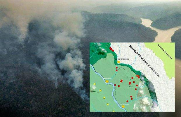 Incendio forestal: equipos especializados ingresan a zonas afectadas de la Selva Central