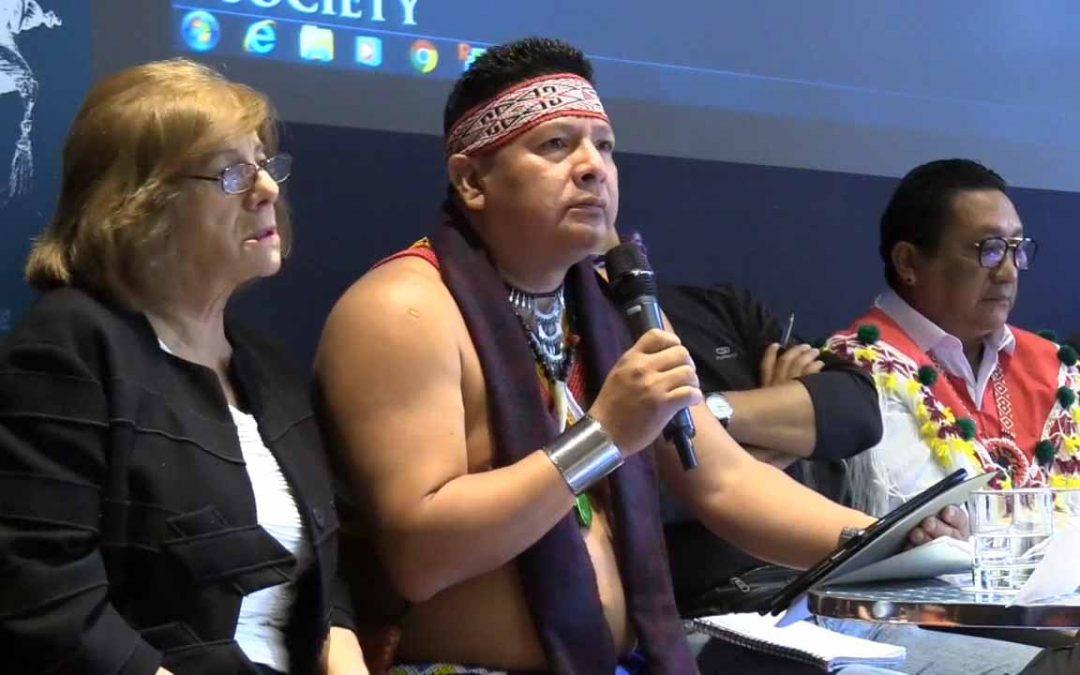 Indígenas del mundo piden apoyo contra la deforestación