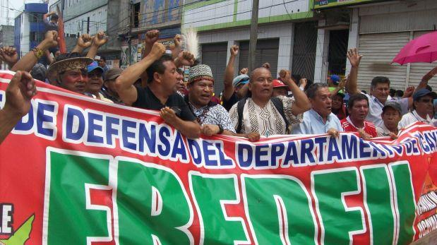 Comunidades nativas se unen a la huelga en Ucayali