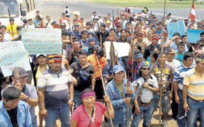 Indígenas prohíben que trabajadores del Lote 192 transiten en sus tierras